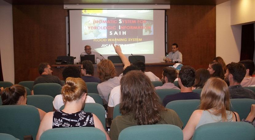 Estudiantes canadienses Quebec concocen gestión Confederación Júcar