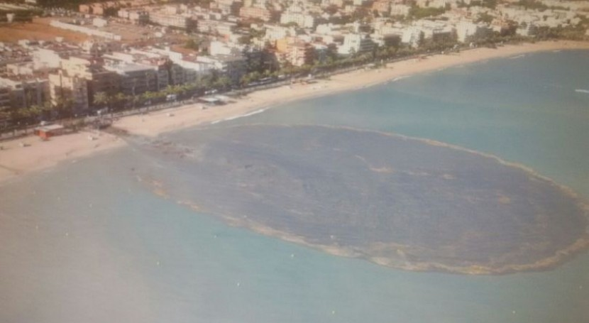 ¿ qué se altera calidad agua baño playas?