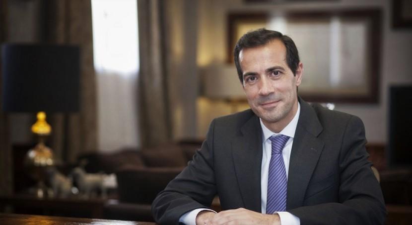 El presidente de Canal de Isabel II Gestión, Salvador Victoria (Fotografías: Miguel Berrocal).