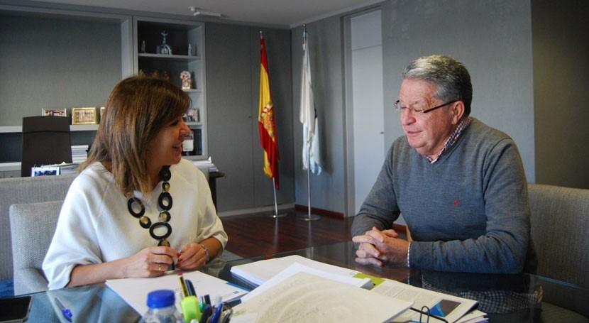 Galicia analiza demandas materia saneamiento San Cristovo Cea