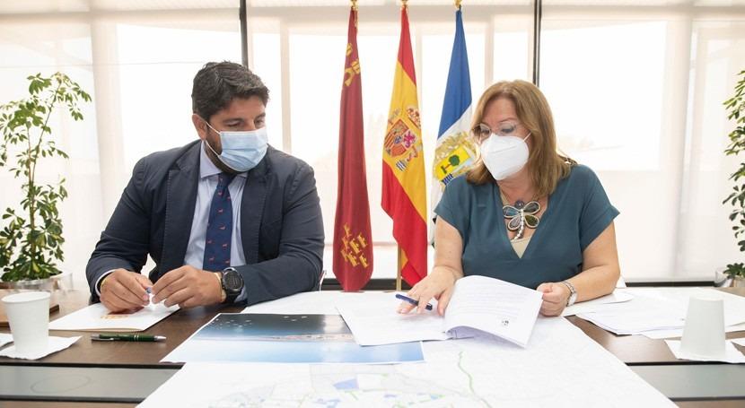 """Murcia se ofrece asumir coste Colector Norte """"atajar problema Mar Menor"""""""