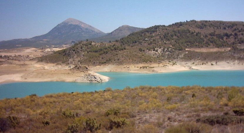 Embalse de San Clemente (Wikipedia/CC).