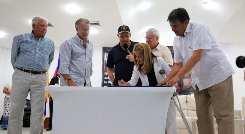 Colombia mejorará saneamiento y abastecimiento Soledad