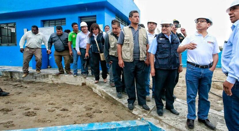Gobierno peruano supervisa servicios agua y saneamiento región Ica