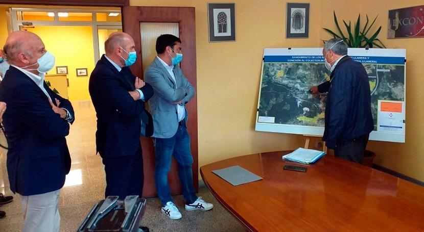 Asturias finaliza saneamiento entorno Villabona, Llanera, inversión 1.181€