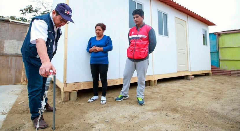prioridad Gobierno peruano es dotar agua y saneamiento población