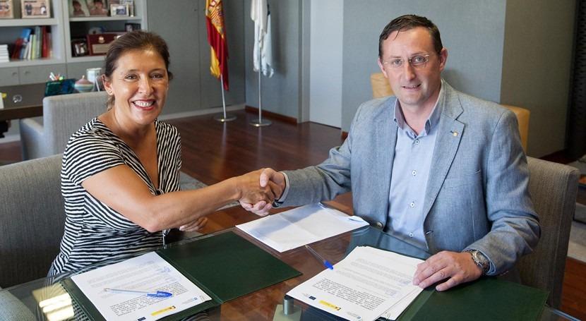 Galicia mejorará saneamiento Santa Marta Meilán Riotorto