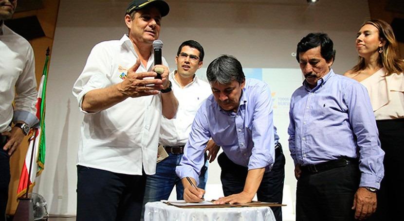 gobierno colombiano llevará agua potable y saneamiento más habitantes Santander y Meta