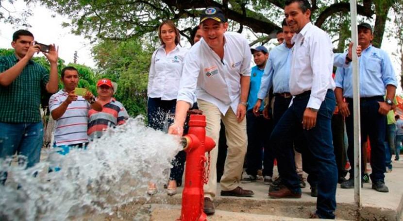 Gobierno colombiano proporciona abastecimiento y saneamiento más 46.000 tolimenses