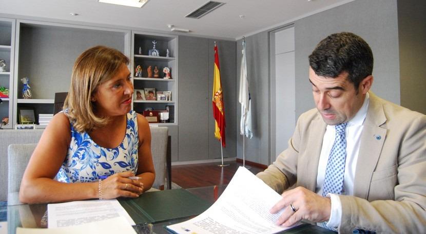 Gobierno gallego mejorará redes abastecimiento y saneamiento Pontecesures