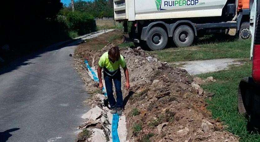 Santa Cruz Bezana renueva red abastecimiento Covachos