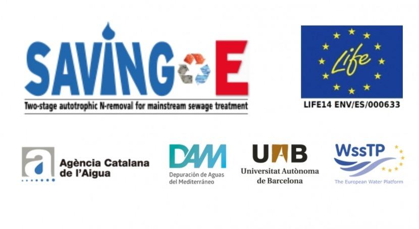 Saving-E. Energía, Depuradoras y Sol