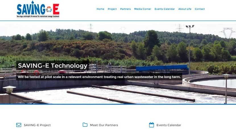 proyecto LIFE+ SAVING–E, cual participa DAM, estrena nueva página web