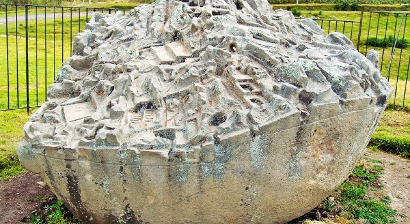 piedra Saywite: oráculo inca agua