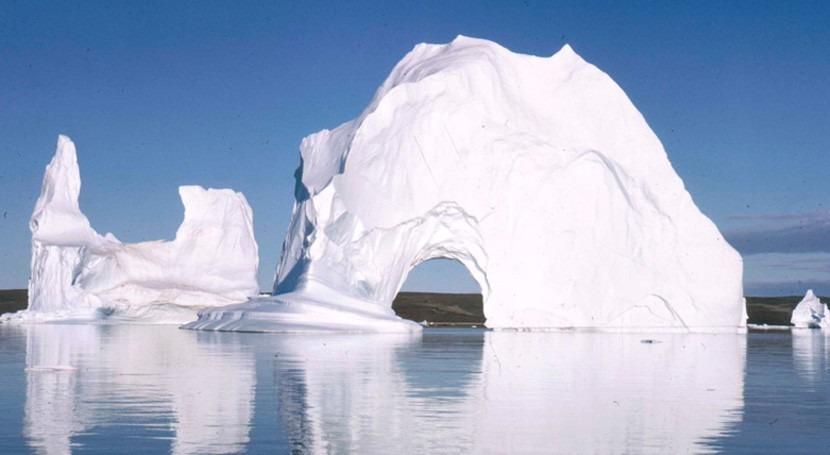 algas derriten capa hielo Groenlandia