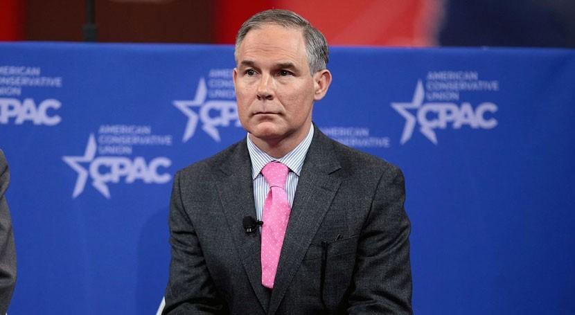 Trump propone negacionista cambio climático como líder EPA
