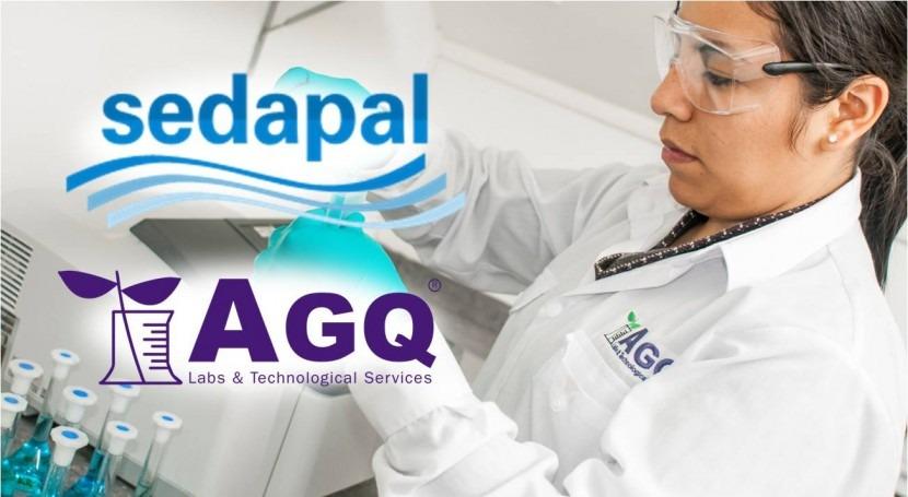 AGQ Labs adjudicataria servicio análisis aguas Sedapal Perú