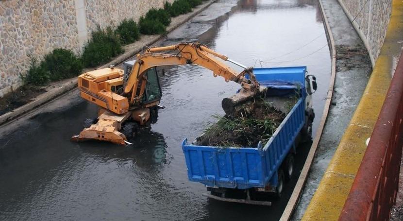 CHS retirará sedimentos cauce río Segura Orihuela cuando se den condiciones óptimas