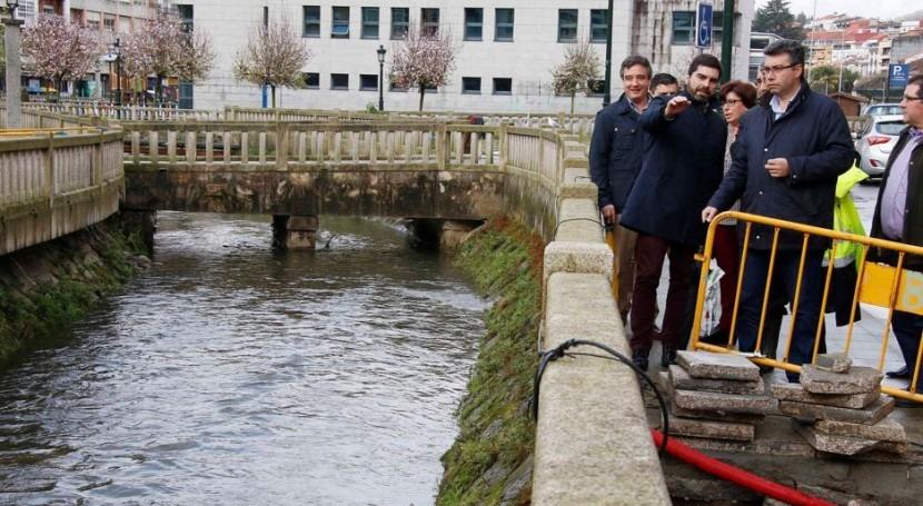 Augas Galicia busca soluciones zonas afectadas inundaciones Redondela
