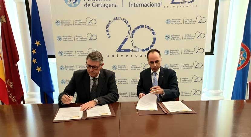 CHS y Cátedra Agricultura Sostenible UPCT mejorarán uso agrícola agua