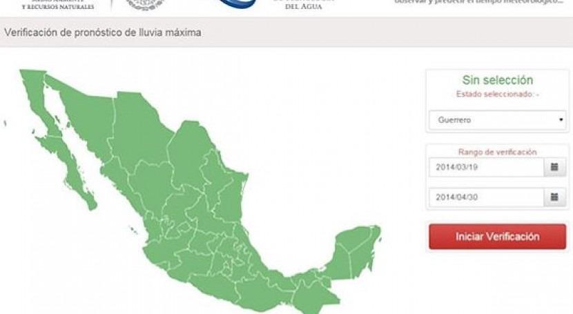 Conoce sistema verificación pronósticos lluvia IMTA