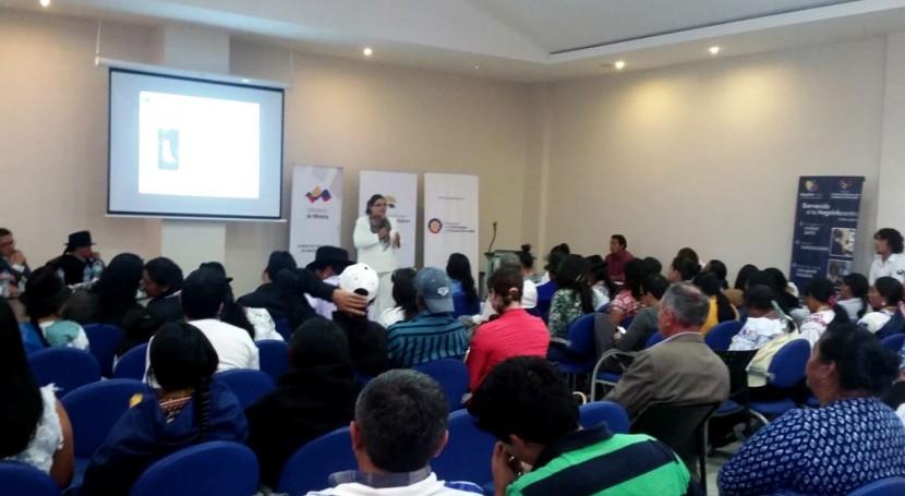 Diálogos Ciudadanos, herramienta Senagua fortalecer gestiones comunitarias