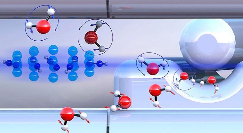 Investigadores suizos logran separar dos formas que se presentan moléculas agua