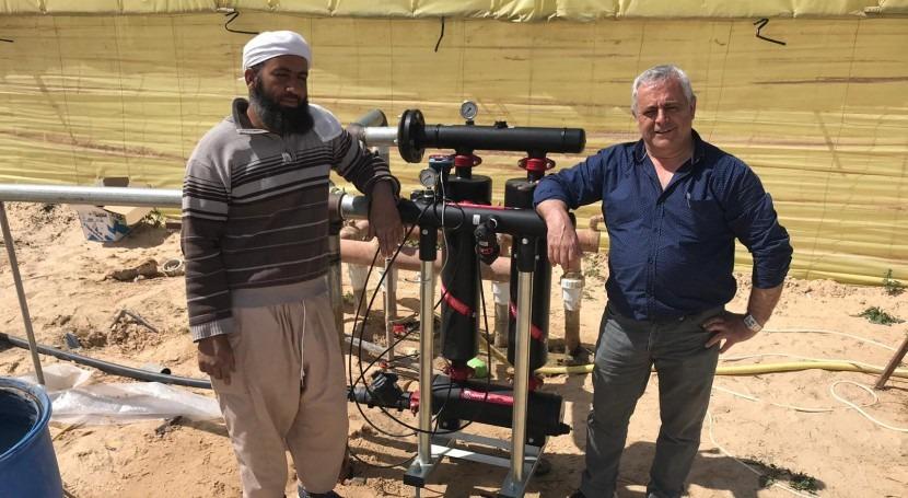 Separadores partículas PE-100: caso éxito desierto Sáhara