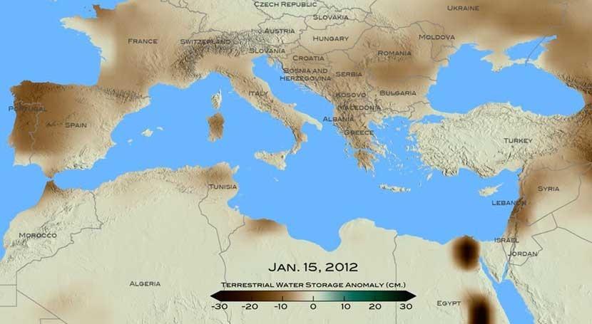 reciente gran sequía Oriente Medio, peor últimos nueve siglos