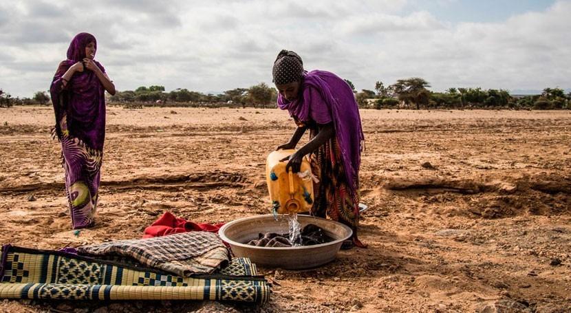 sequía deja cientos miles somalíes sufriendo escasez agua y comida
