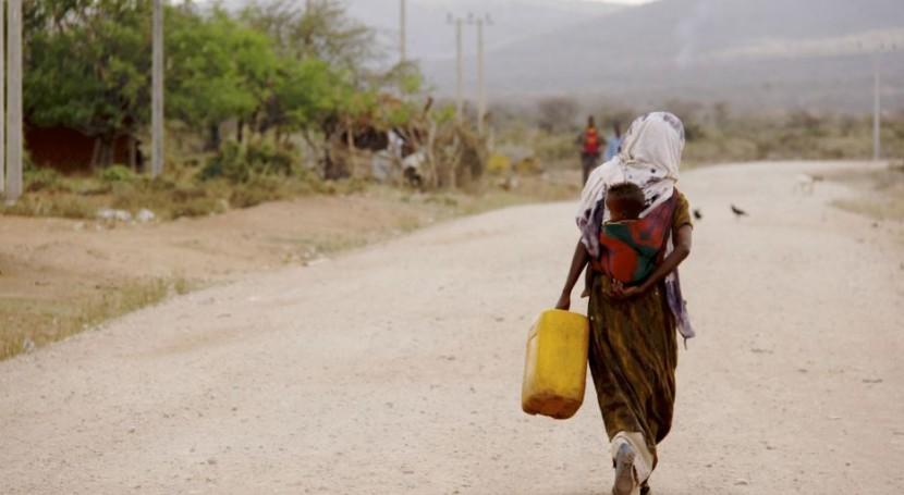 350.000 bebés nacerán agosto Etiopía medio peor sequía 50 años
