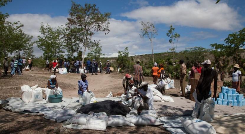 Nueva operación emergencia sequía Haití
