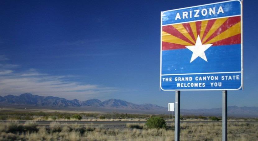 Entrada al estado de Arizona (Wikipedia/Cc).