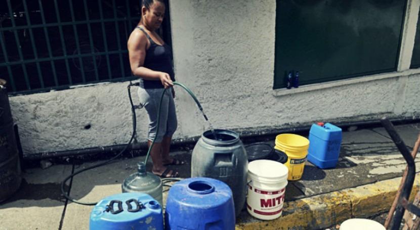 agua Región Central Venezuela. problema estructural