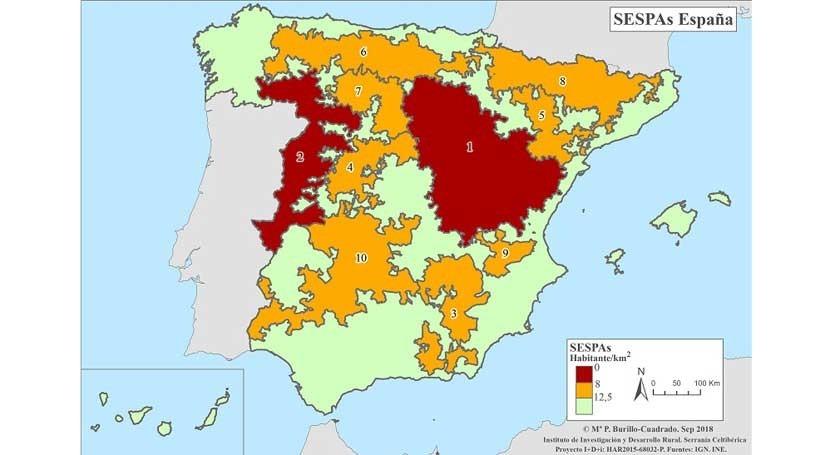 Mapa De Teruel Capital.La Espana Vacia Vaciada Page 27 Skyscrapercity