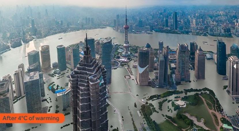 Ciudades agua: cambio climático inundará grandes urbes costeras