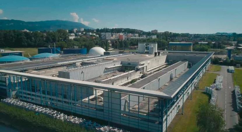 Sustituyendo y reformando biofiltros Annecy (Francia)