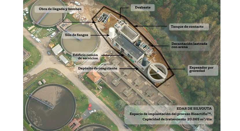 Santiago Compostela, pionera tratamiento exceso aguas residuales EDAR