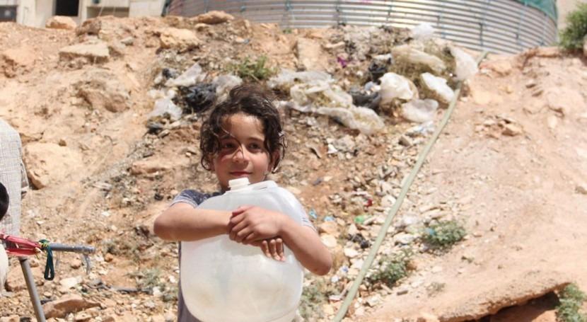 cortes agua, arma más conflicto Siria