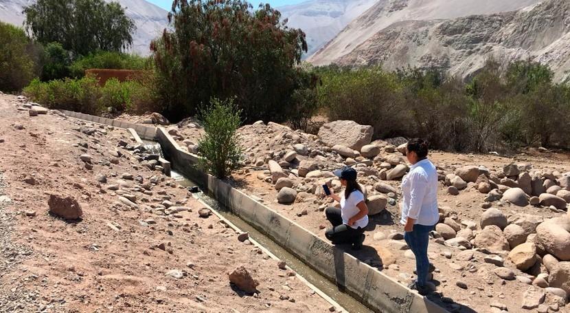 fuerte sismo registrado Arica, Chile constata resistencia obras riego