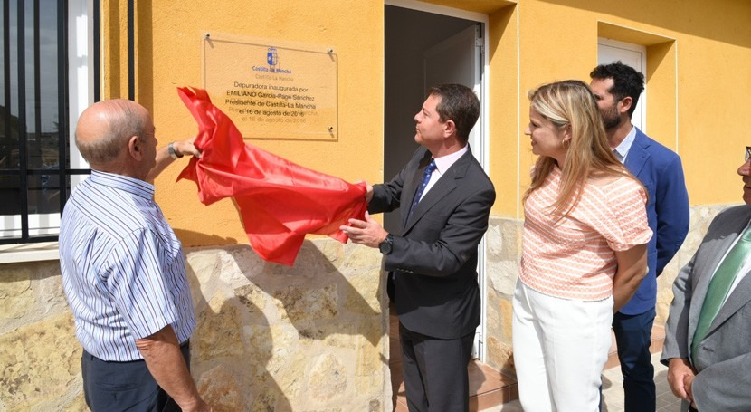 marcha nuevo grupo EDAR cuatro municipios Mancha conquense