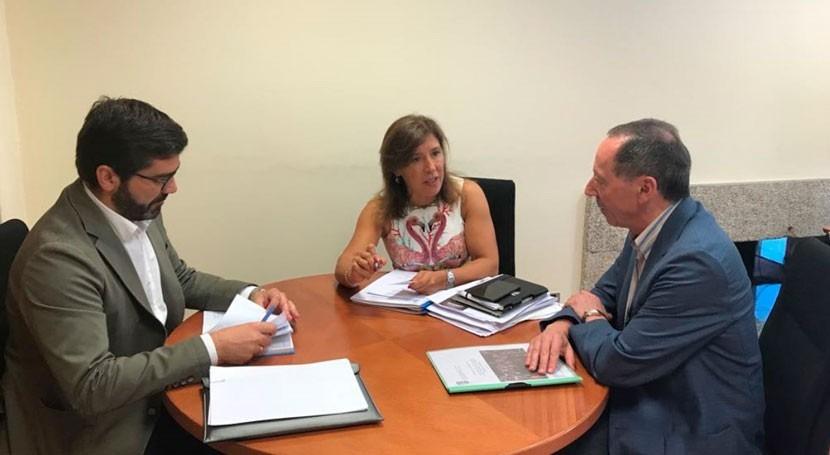 Gobierno gallego estudia mejora sistema hidráulico Beariz