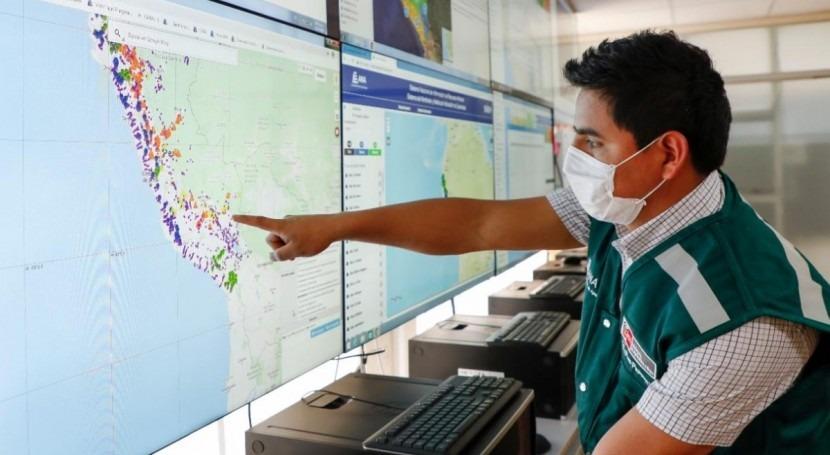 Perú cuenta sistema alerta y monitoreo activación quebradas
