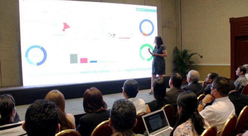 Salvador presenta Sistema Información Hídrica