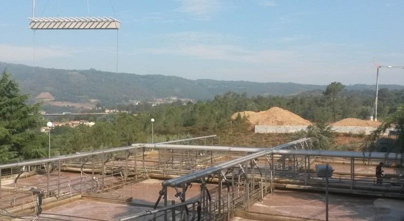 AEMA ejecuta mejoras depuradora Cooperativas Orensanas, (COREN)