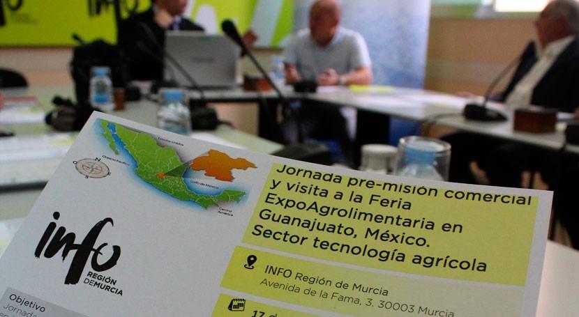 México, principal destino exportaciones sistemas riego e invernaderos Murcia