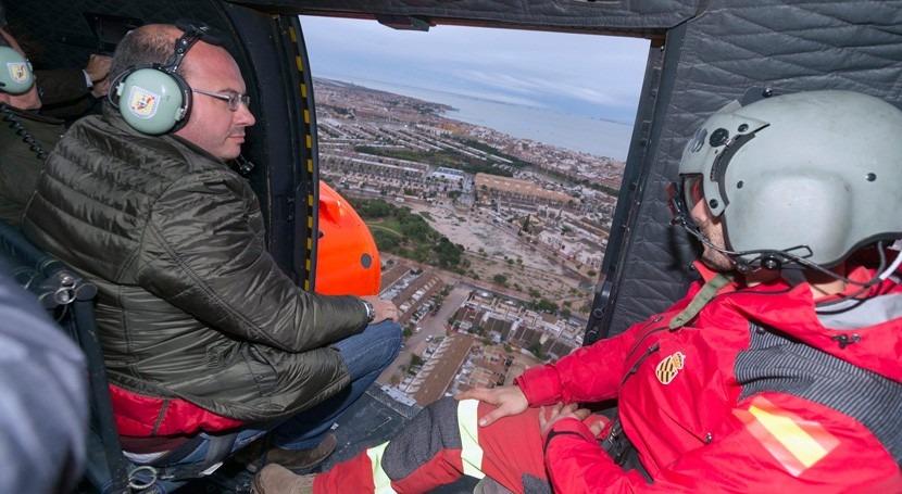 zonas afectadas lluvias Murcia podrían declararse situación catastrófica