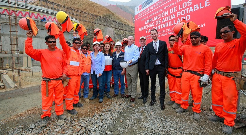 70.000 peruanos Lurigancho y Huarochirí contarán agua potable y alcantarillado 2018