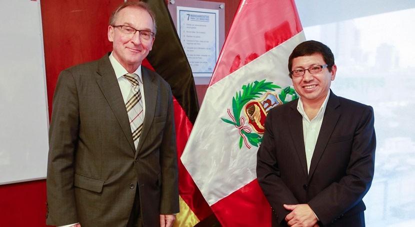 Alemania ayudará Perú rehabilitar sistemas agua Trujillo y Chimbote