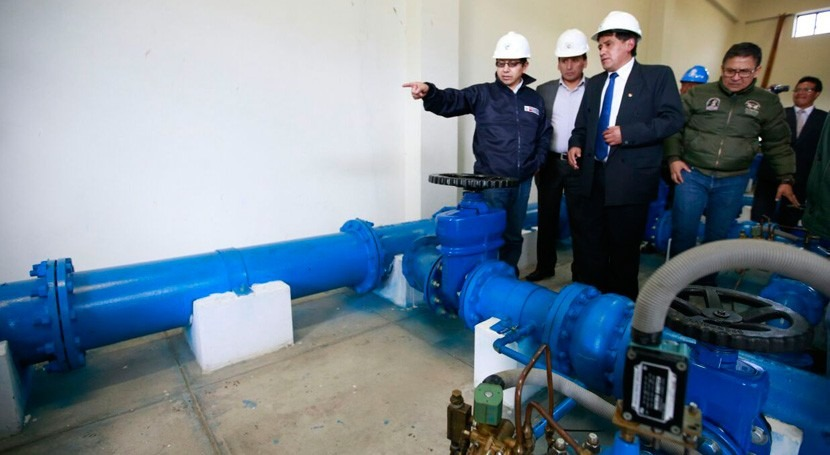 Gobierno Perú apoyará proyecto integral agua potable Pasco
